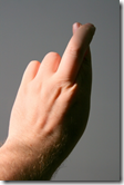 Crossed fingers image - not a valid backup strategy